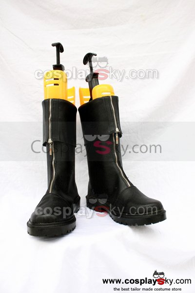 Final Fantasy VII 7 Zack Fair Cosplay Boots Shoes Custom Made