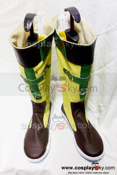 Final Fantasy X Rikku Cosplay Boots Shoes Custom Made