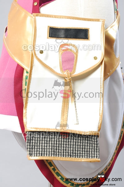 Final Fantasy XIII-2 FF 13-2 Serah Farron Cosplay Costume