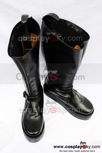 Final Fantasy XIII Sazh Katzroy Cosplay Boots Shoes