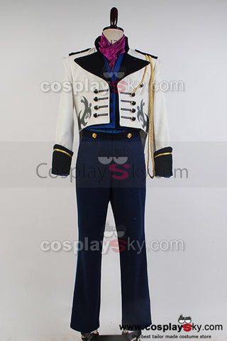 Frozen Prince Hans Tail Coat Costume Suit Cosplay