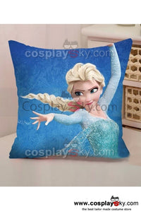 Frozen Snow Queen Elsa Back Cushion Throw Pillow
