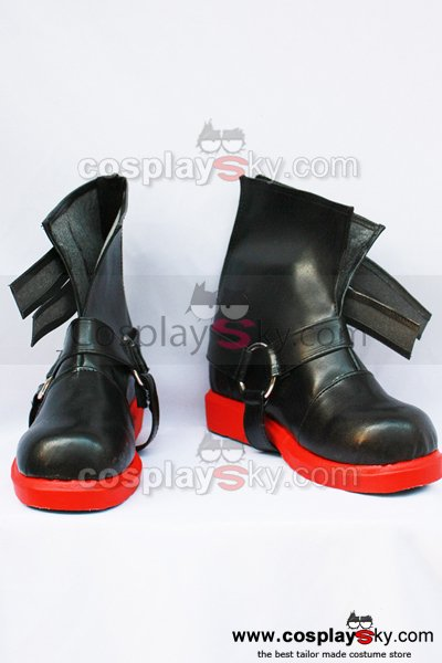 Fullmetal Alchemist Edward Elric Cosplay Boots Shoes