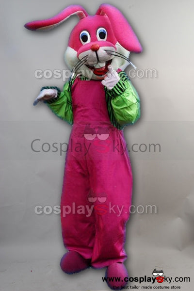 Funny Naughty Rabbit Mascot Costume Adult Size