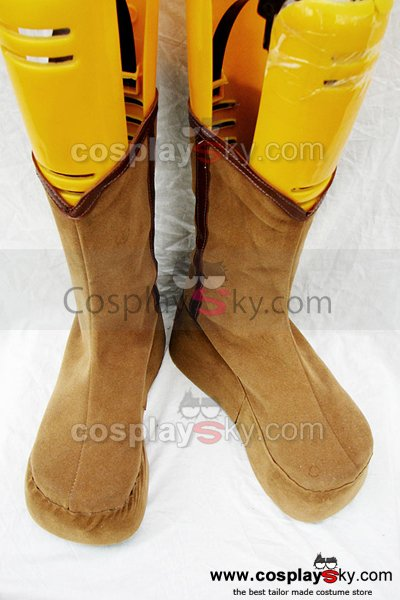 Gin Tama kagura Cosplay Boots Shoes Custom Made