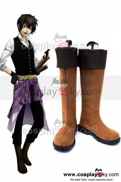 Hakuouki Toudou Cosplay Shoes Boots