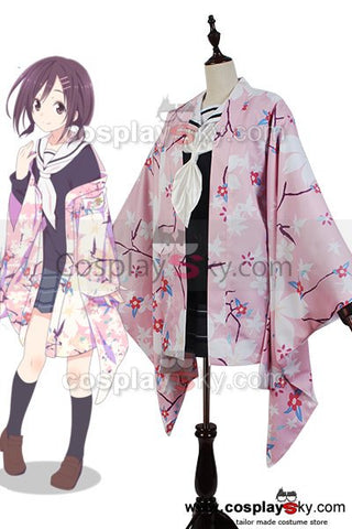 Hanayamata Naru Sekiya Kimono Outfit Suit Uniform Dress Cosplay Costume