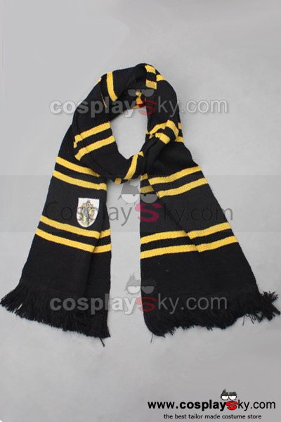 Harry Potter Hufflepuff House Wool Blend Scarf