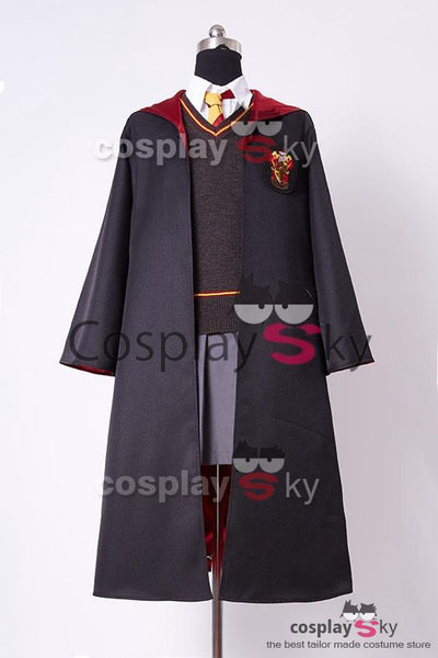 Harry Potter Gryffindor Uniform Hermione Granger Cosplay Costume for adults