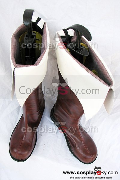 Hetalia: Axis Powers Northern Italy Cosplay Boots Shoes