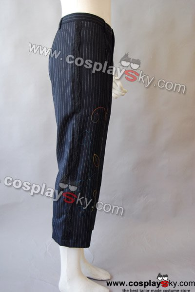 Alice In Wonderland Johnny Depp Mad Hatter pinstripe pants