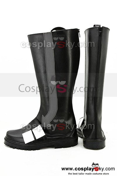 Kagerou Project MekakuCity Actors Konoha Cosplay Boots Shoes Black