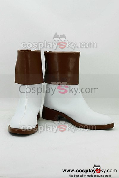 Kamigami no Asobi: Ludere deorum Yui Kusanagi Cosplay Boots Shoes