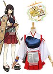 Kantai Collection KanColle Japanese Aircraft Carrier Akagi Cosplay Costume