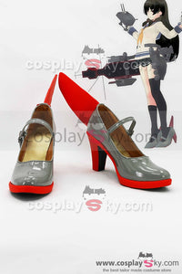 Kantai Collection Japanese Destroyer Isokaze Boots Cosplay Shoes