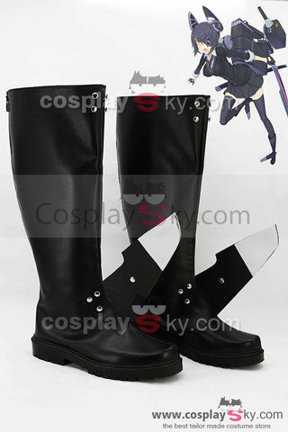 Kantai Collection Japanese Light Cruiser Tenry? Boots Cosplay Shoes