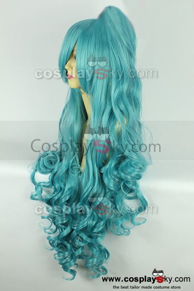 KARNEVAL Eva Long Curly Hair Cosplay Wig