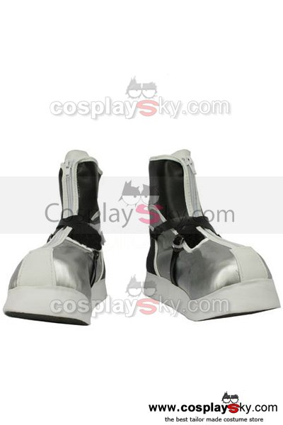 Kingdom Hearts II Sora Cosplay Boots Shoes *Sliver