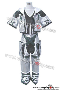 Kingdom Hearts 2 Sora Cosplay Costume Final Outfit Silver