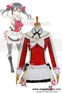 LoveLive! School Idol Project Nico Yazawa Cosplay Dress Costume Uniform