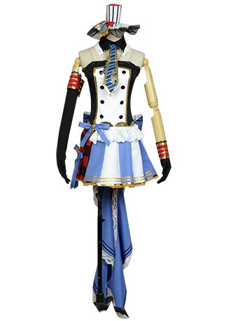 LoveLive! Eli Ayase Cafe Maid Uniform Cosplay Costume