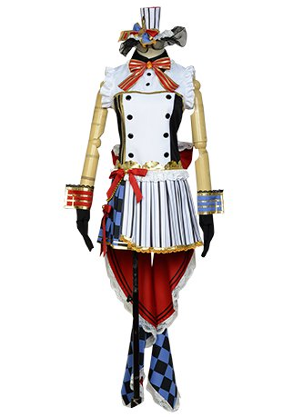 LoveLive! Nico Yazawa Cafe Maid Uniform Cosplay Costume