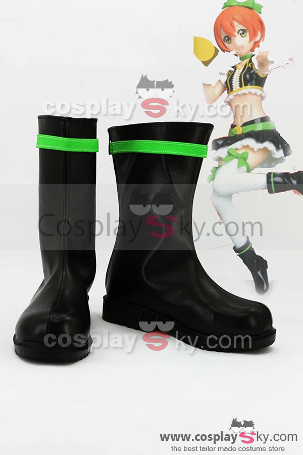 LoveLive! No brand girls Rin Hoshizora Boots Cosplay Shoes