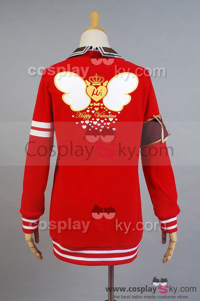 LoveLive! Valentine's Day Maki Nishikino Uniform Cosplay Costume