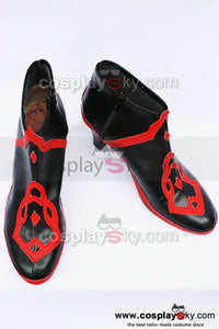 Lunia Record of Lunia War Dark Eir Cosplay Shoes