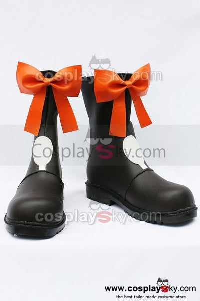Macross F Ranka Lee Cosplay Boots Shoes