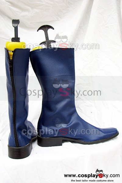 Mobile Suit Gundam Seed Cosplay Boots Blue