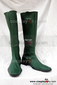 Mobile Suit Gundam Seed Destiny Cosplay Boots Green