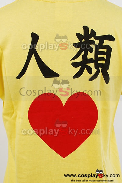 NO GAME NO LIFE Kuhaku I Love Human T Shirt Tee