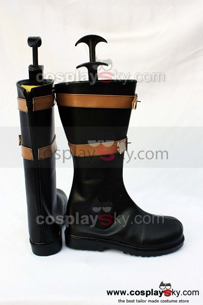 One Piece EYE MIHAWK Cosplay Shoes Boots Custom Made