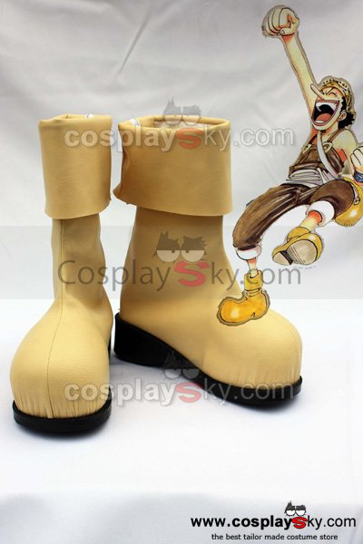 One Piece Usopp Cosplay Shoes Boots Custom Made