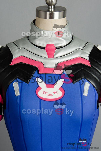 Overwatch D.VA DVA Hana Song Outfit Cosplay Costume