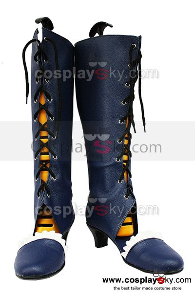 Pandora Hearts B-rabbit Alice Cosplay Boots Shoes