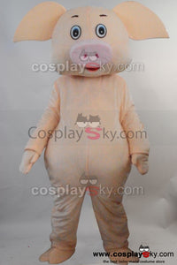 Pig Mascot Costume Fancy Dress Outfit