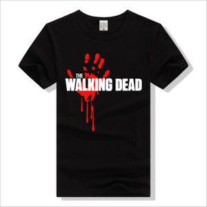 The Walking Dead Bloodspray Logo Short T-shirt