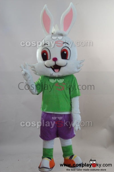 Rabbit Bunny Mascot Cosplay Costume Adult Size