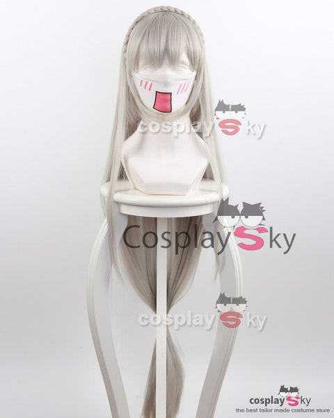 Re:Zero Life in a Different World from Zero Emilia wig Cosplay Wigs