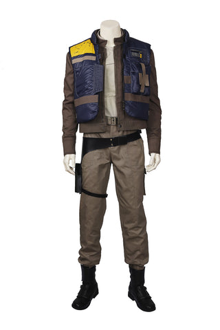 Rogue One: A Star Wars Story Captain Cassian Andor Outfit Cosplay Costume