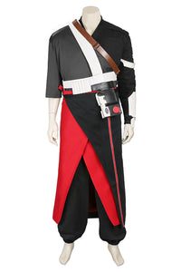 Rogue One: A Star Wars Story Chirrut Îmwe Outfit Cosplay Costume