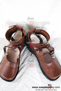 Rozen Maiden Lapislazuri Stern Cosplay Shoes Custom Made