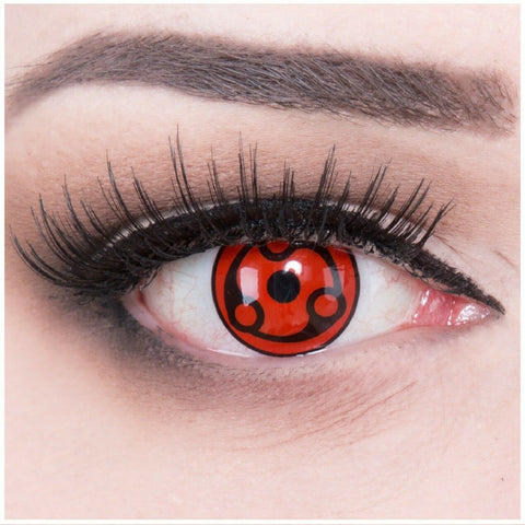 Naruto Sharingan Cosplay Cosmetic Contact Lense