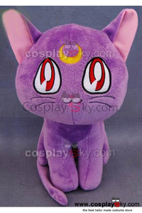Sailor Moon Purple Cat Luna Plush Toy 12 inches