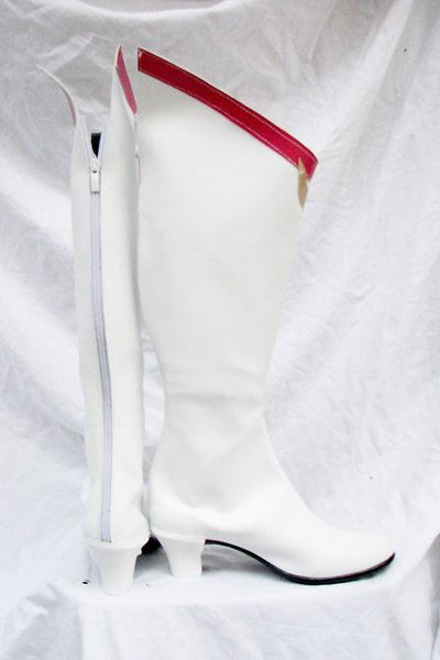 Sailor Moon Usagi Tsukino Cosplay Boots Shoes White