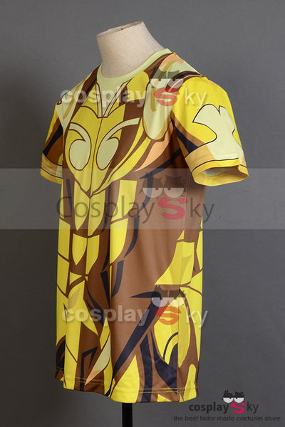 Saint Seiya Gold Saint Aries Shion T-Shirt Tee(L Size)