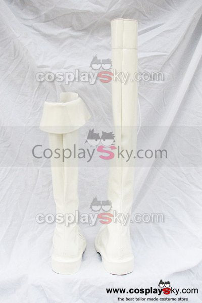 Shinning Wind Caris Philiath Cosplay Boots White