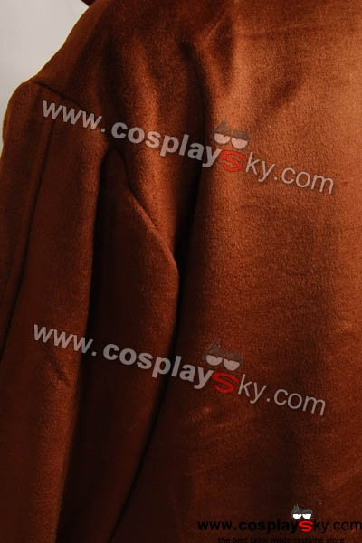 f200e58537 Star Wars Brown Sith Robe Jedi Wool Cloak Kenobi Costume – New ...